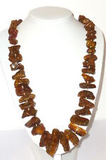 Old Amber ?Necklace Butterscotch? Amber Amber Necklace 148gramm