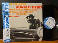 DONALD BYRD - OFF TO THE RACES Blue Note Jacke McLean Pepper Adams Art Taylor NM
