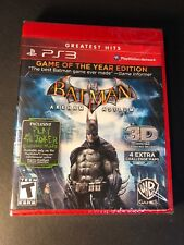 Batman Arkham Asylum [ Game of the Year Edition / Greatest Hits ] (PS3) NEW