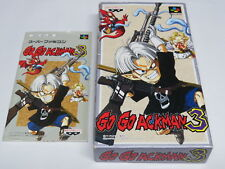 Go Go Ackman 3 Super Famicom Japan