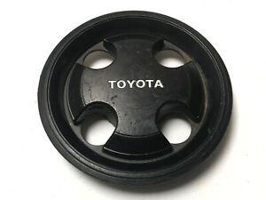 Toyota Corolla Tercel OEM Wheel Center Cap Black Finish 4 LUG 6139 1983-1985