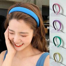 Women Fashion Korean Candy Color Summer Headband Anti-slip Pressure Hair Hoop