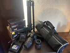 Nikon D5300 fotocamera DSLR con WIFI, lenti & Treppiede