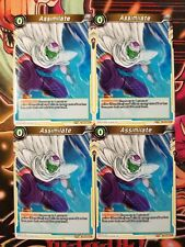 Assimilate 4x TB3-062 C Dragon Ball Super PLAYSET