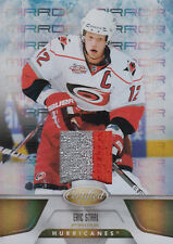 11-12 Certified Fabric Of The Game xx/25 Made! Eric STAAL #11 - Hurricanes