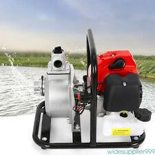 High Flow Water Pump 2 Stroke Gas Powered Water Pump For Gardening Irrigation Us