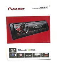 Pioneer MVH-S21BT Single Din Bluetooth In-Dash Receiver (No Box)