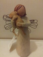 Willow Tree Angel of Friendship Figurine Lordi 1999 angel with dog no box