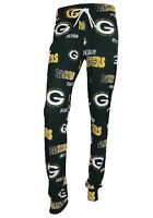 Green Bay Packers NFL Concepts Sports Sweep Women's Pajama Pants-Size Medium