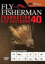 Fly Fisherman Foundation Fly Patterns: Basic Dvd New