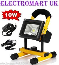 RECHARGEABLE MAINS OR 12V 12 VOLT COB LED INSPECTION PORTABLE FLOODLIGHT