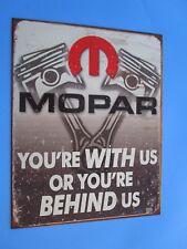 tin metal gasoline service station man cave advertising decor gas oil mopar