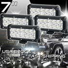 4X 7INCH 36W CREE LED WORK LIGHT BAR SPOT OFFROAD LAMP 4WD ATV DRIVING SUV FLOOD