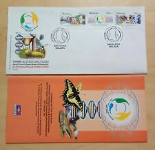 2004 Malaysia Convention Biosafety Biological Diversity 3v Stamps FDC