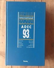 ADEC 1993 Art Price Annual International Reference Book Bordos