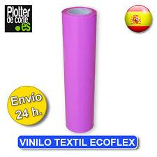 OFERTA bobina rosa fuerte VINILO TEXTIL ECOFLEX HASTA AGOTAR STOCK 48cm x 22,8 m