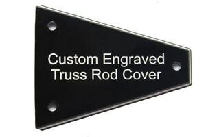 Custom engraved Truss Rod Cover for Import Jackson Guitars