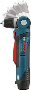 """Bosch 12-Volt Li-Ion 3/8"""" Right Angle Drill/Driver Kit w-(2) Batt & Charger NEW"""