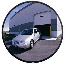 "See All Plxo18 Circular Acrylic Heavy Duty Outdoor Convex Security Mirror, 18"""