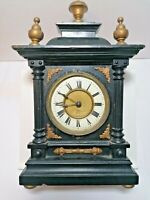 Antique Wooden Mantel Clock Made in Wurttemberg Spares/Repairs/Restoration