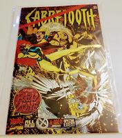 Sabretooth 1, NM+ (9.4), 1st Print, Red Zone, Chromium Cvr, 1995 Original Owner