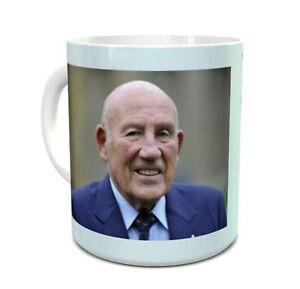 Sir Stirling Moss mug ceramic mug with quote from Stirling Moss on the mug 11oz