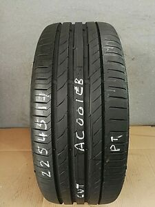 225 45 17 91W CONTINENTAL CONTISPORTCONTACT 5 *5.6-6.2MM*   (PRESSURE TESTED)