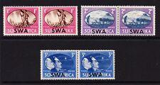 S.W.A.1945 VICTORY SET SG 131-133 MNH.