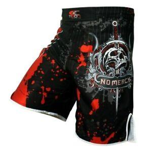 MMA Fighting Shorts Training Pants Boxing Tiger Muay Thai Kickbox Martial Arts