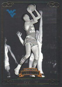 2008-09 Press Pass Legends Gold #69 Jerry West 85/99 West Virginia Mountaineers