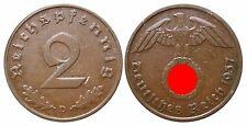 J362    2 Reichspfennig Dritte Reich  1937 D  502739