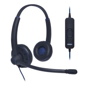 Everyday Binaural Noise Cancelling USB Headset