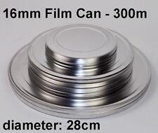16mm film can / metal / 300 mtr. / 1000 feet (new)