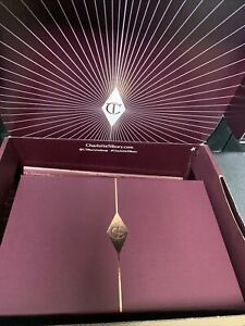 Charlotte Tilbury Empty Gift Box Magnetic Flap 24 X 15.5 X 8cm