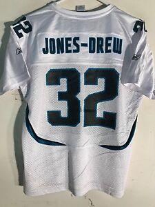 Reebok Women's NFL Jersey Jacksonville Jaguars Jones-Drew White sz M