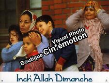 10 Photos Cinéma 21x27.5cm (2001) INCH'ALLAH DIMANCHE Fejria Deliba, Mokeddem EC