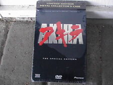 Akira - Tin Case Limited Edition (LE SE) - BRAND NEW - Anime DVD - Pioneer 2001