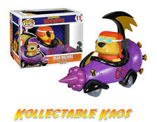 Wacky Races - Mean Machine with Goggled Muttley Pop! Rides Vinyl Figure
