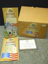 Lilliput Lane Landmarks Allegiance Collection One Nation Under God L2078 Nib