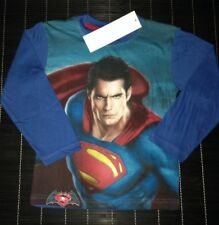 Superbe haut /  tee-shirt manches longues SUPERMAN taille 7 ans