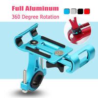 FULL Aluminium 360° Support Guidon Vélo Moto VTT Pour Téléphone GPS Universel
