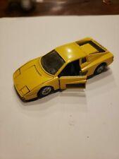 FERRARI TESTAROSSA 1:39 MAISTO YELLOW DIE CAST MODEL CAR, NEW