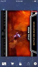 Topps Star Wars Digital Card Trader Battle Of Mustafar Widevision Insert Award