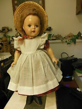 "Madame Alexander 1937 composition 19"" Princess Elizabeth  as McGuffy Ana doll"