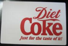 Set of 4 Diet Coke Reversible Placemats -NIP-Free Ship
