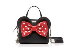 Kate Spade for minnie mouse maise Leather Satchel Crossbody Bag Disney! Rare
