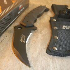"9"" TACTICAL COMBAT Karambit Claw G10 FIXED BLADE KNIFE Army Hawkbill w/ SHEATH"
