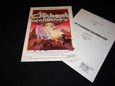 LE CHAINON MANQUANT picha scenario dossier presse cinema animation 1979