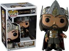 King Aragorn Exclusive POP Funko The Lord of the Rings