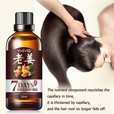 New 7 Days Hair Growth Essential Oil Loss Natural Ginger Ginseng Regrowth Serum